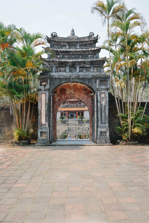 Le tombeau de Minh Mang à Hué au Vietnam