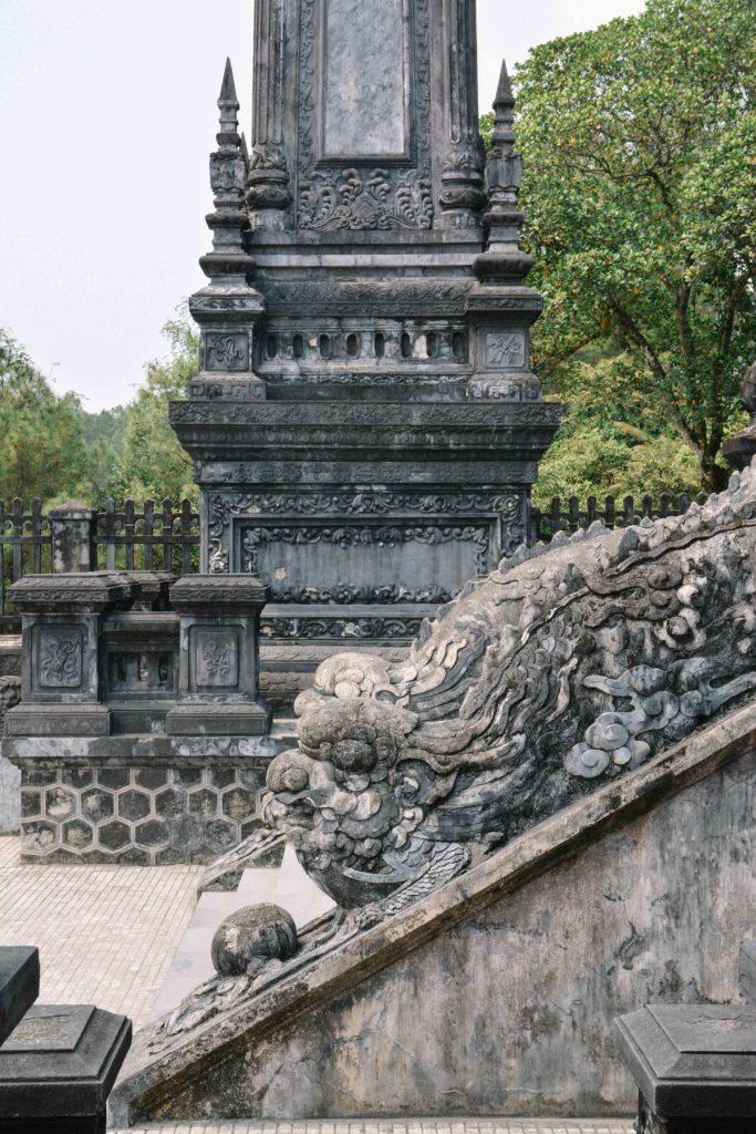 Le tombeau de Khai Dinh à Hué au Vietnam