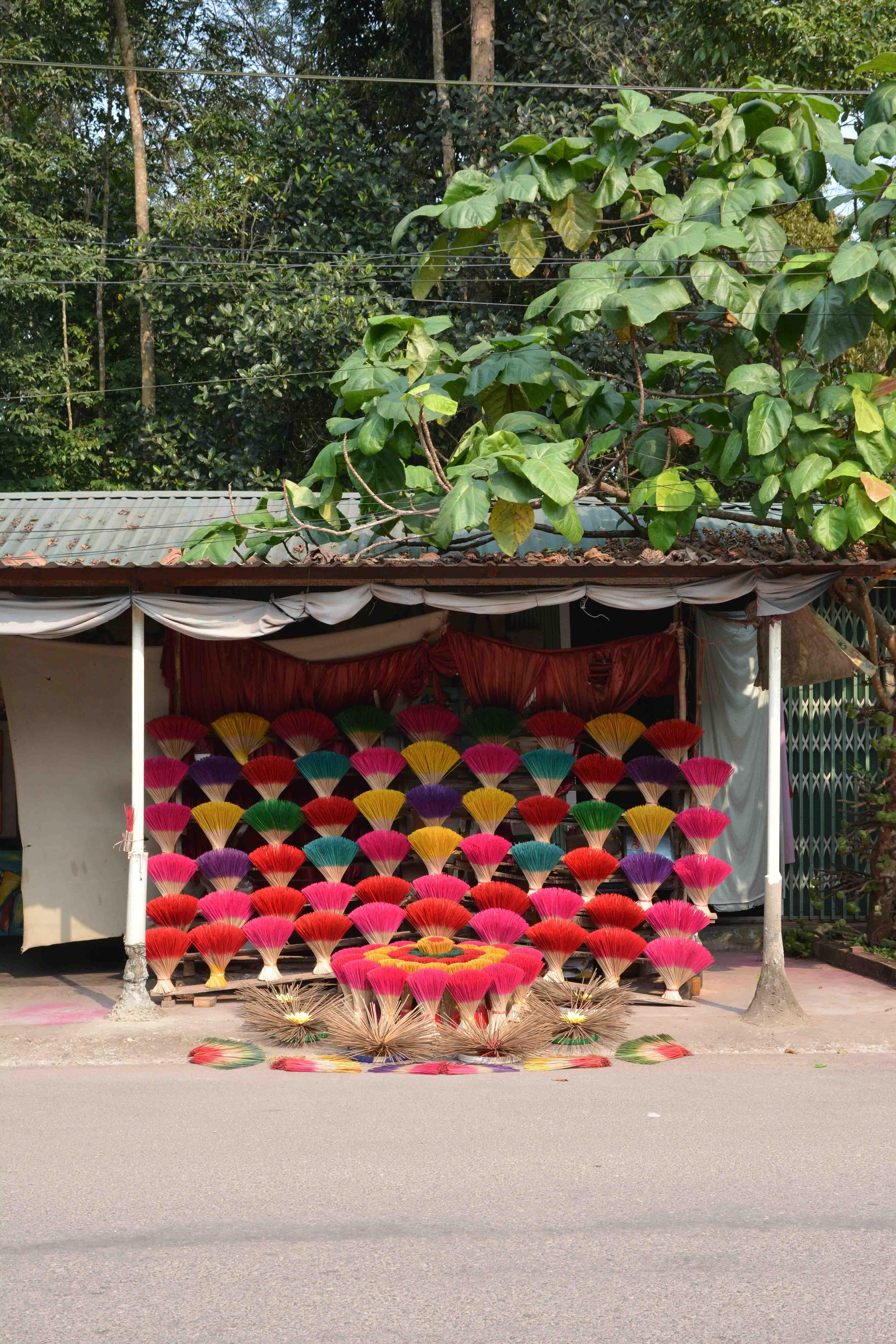 les alentours de Hué au Vietnam