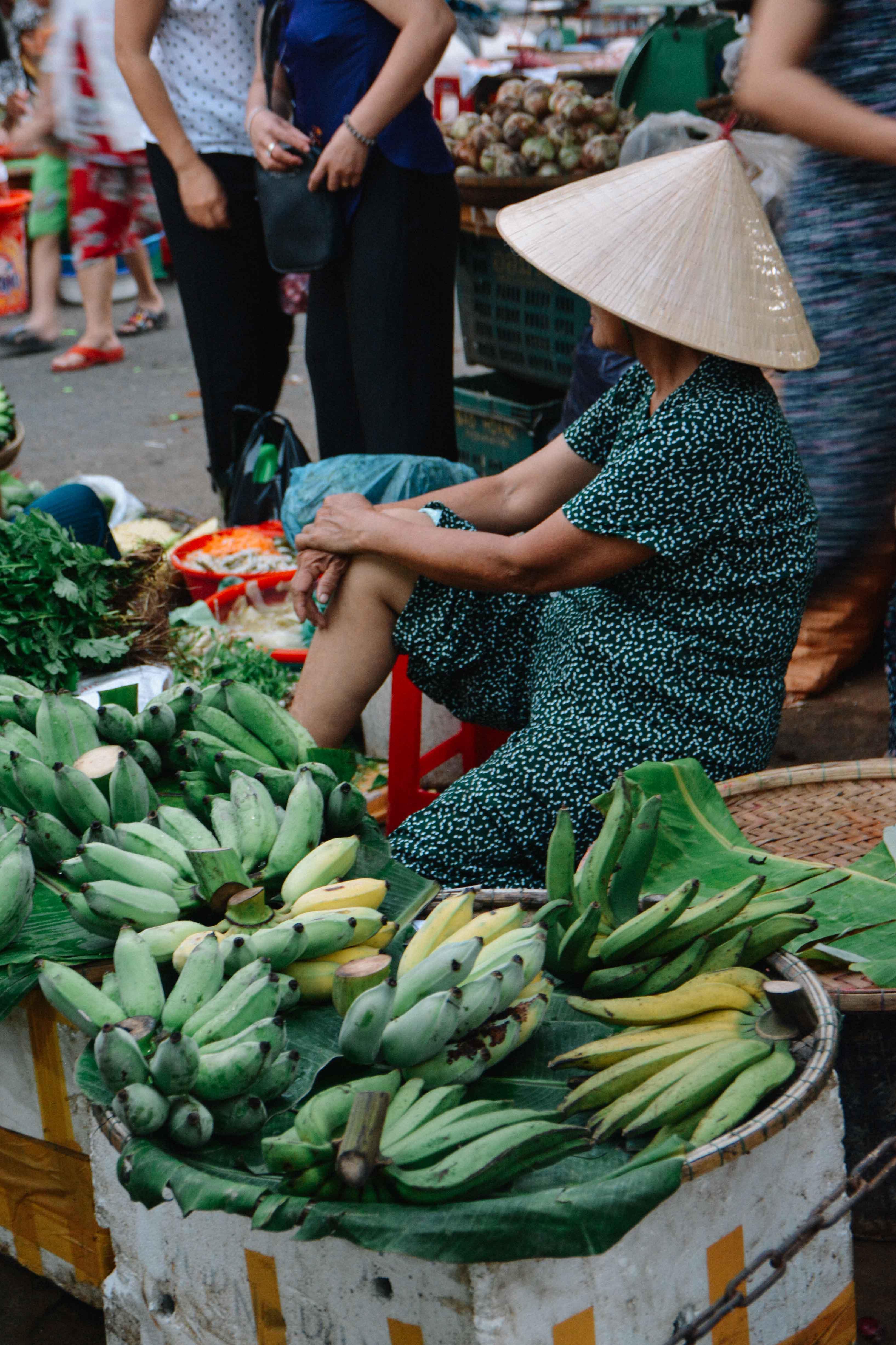 le marché de Hué