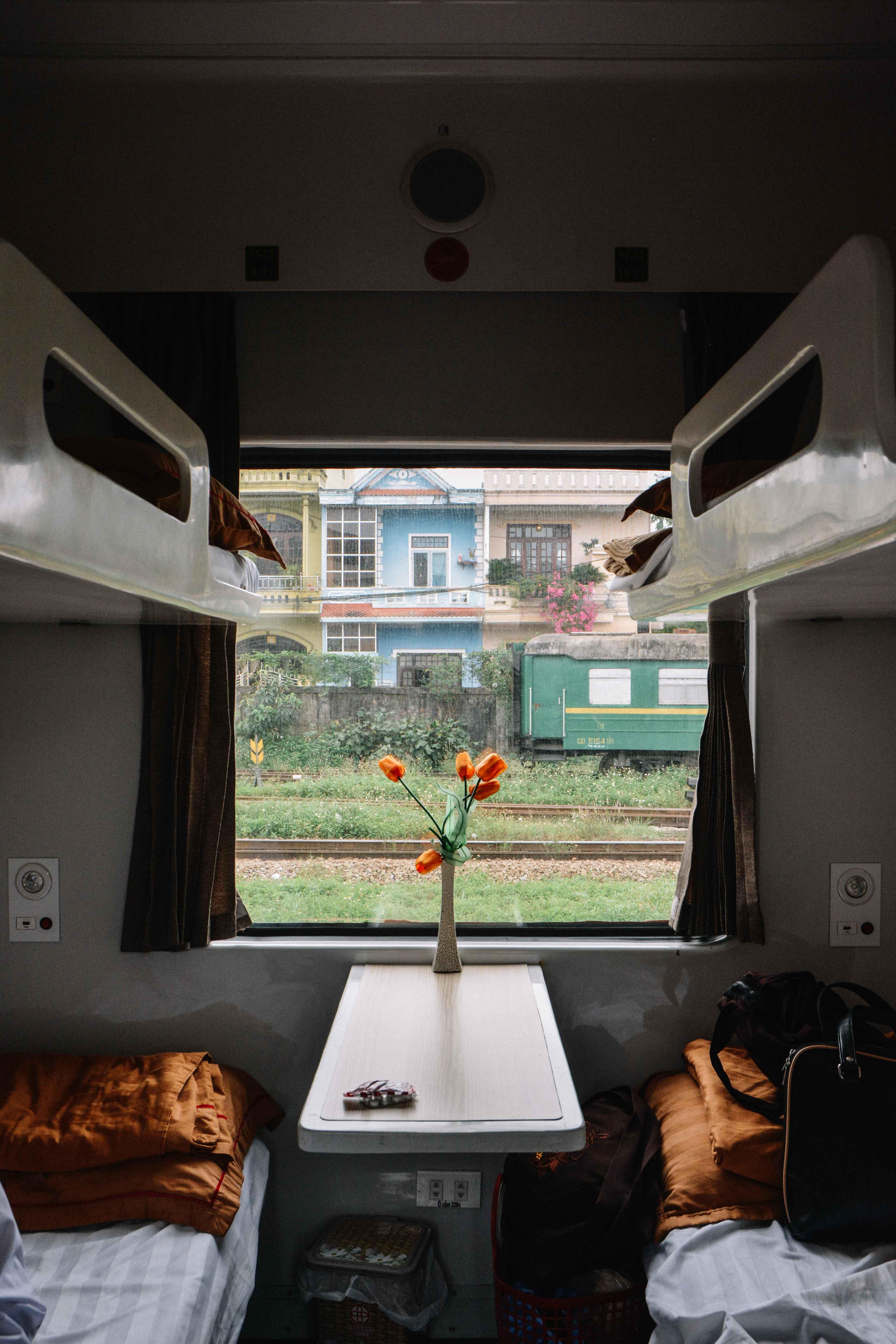 le train couchette Hanoi-Hué