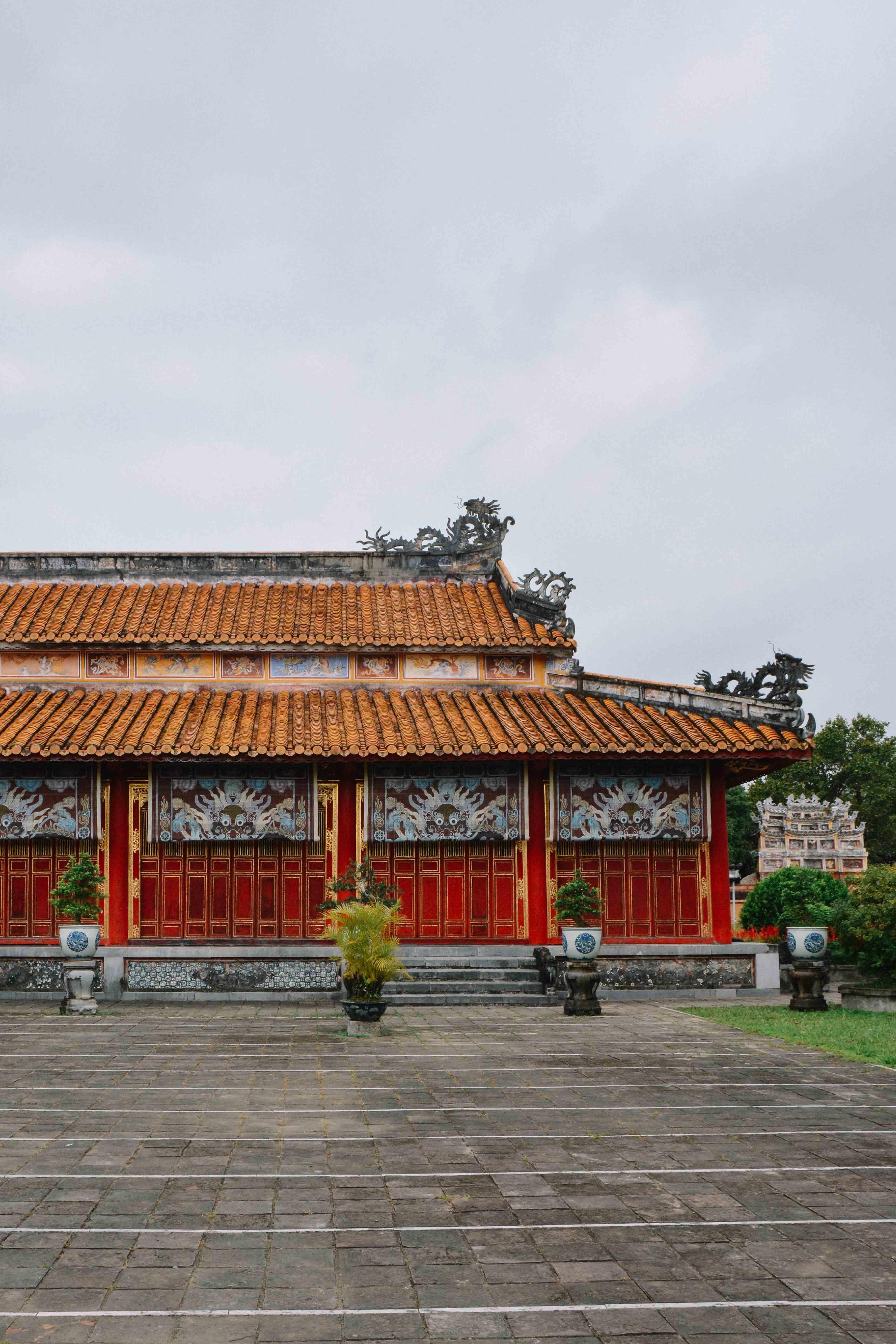 la cité impériale de Hué au Vietnam